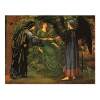 The Heart of The Rose fine art Postcard