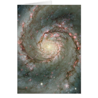The Heart of the Whirlpool Galaxy Greeting Cards