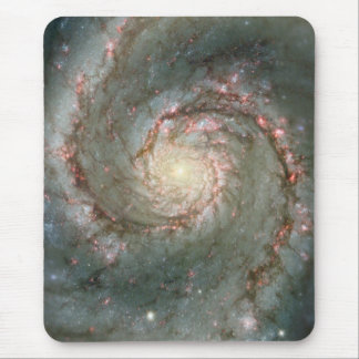 The Heart of the Whirlpool Galaxy Mouse Pad