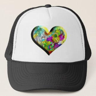 The Heart of Valentine Trucker Hat