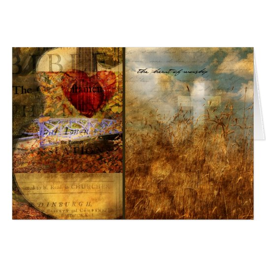 The Heart of Worship Card