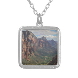 The Heart of Zion Silver Plated Necklace