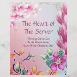 The Heart  Server Title Page Personalized Paper