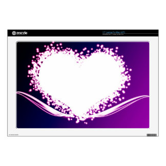 the heart laptop decals