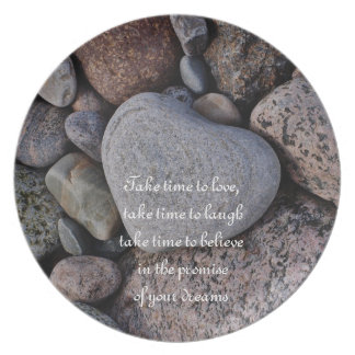 The heart stone plate