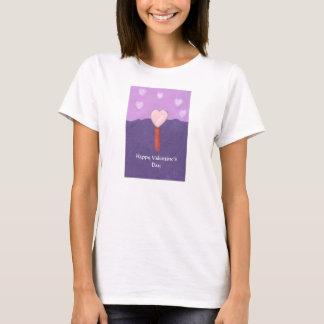 The Heart Tree Valentine Shirt by Julia Hanna