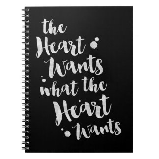The Heart Wants - Inspirational Journal