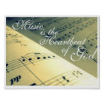 The Heartbeat of God Poster