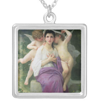 The Heart's Awakening, 1892 Silver Plated Necklace