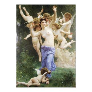 The Hearts Awakening by William Adolphe Bouguereau Card