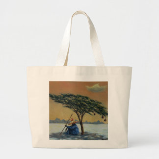 The Heat of the Day 1993 Large Tote Bag