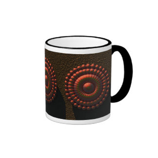 The Heat of the Day Ringer Coffee Mug