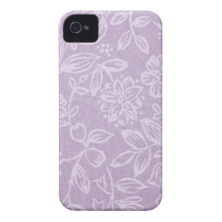 The Heather on the Hill Lavender Patterned iPhone 4 Cover