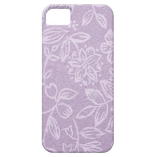 The Heather on the Hill Lavender Patterned iPhone SE/5/5s Case