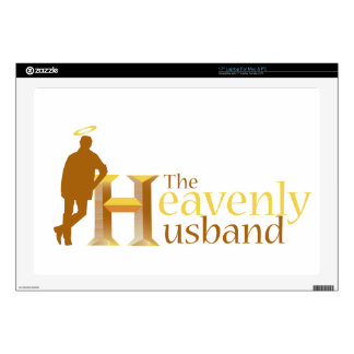 """The Heavenly Husband_110708.ai 17"""" Laptop Decal"""