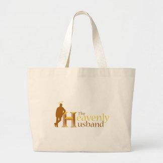 The Heavenly Husband_110708.ai Large Tote Bag