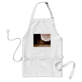 The heavens declare. adult apron