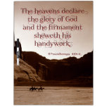 The heavens declare. Dry-Erase whiteboards