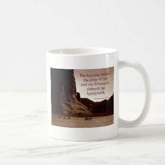The heavens declare coffee mugs