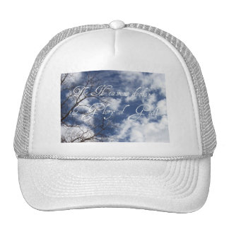 The Heavens declare the Glory of God! Hats