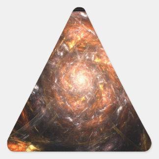 The Heavens Erupt Triangle Sticker