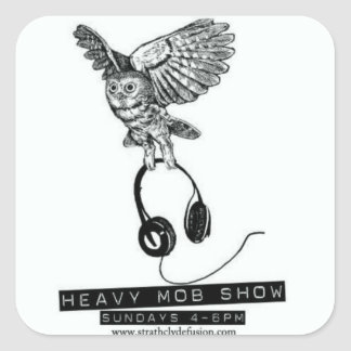 The Heavy Mob Show Stickers