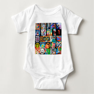 The Hebrew alphabet - alephbet Shirt