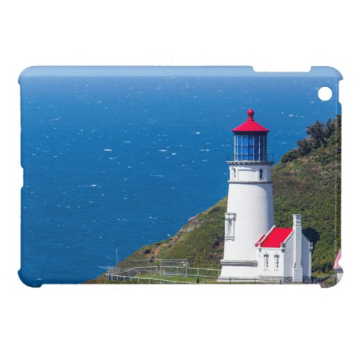 The Heceta Head Lighthouse Near Florence iPad Mini Cover