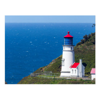 The Heceta Head Lighthouse Near Florence Postcard
