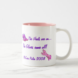 The Heels are on... Gloves come off Mug