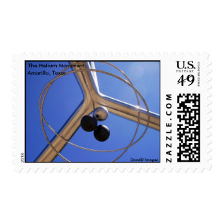 The Helium Monument Stamps