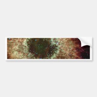 The Helix Nebula Car Bumper Sticker