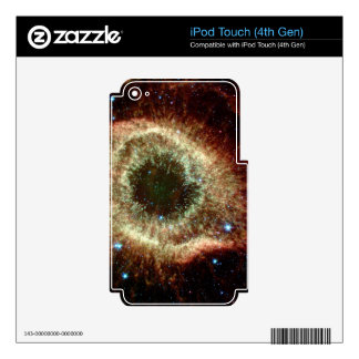 The Helix Nebula iPod Touch 4G Decal