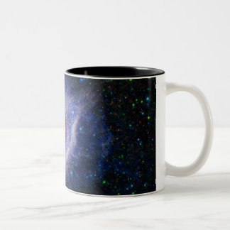 The Helix Nebula Two-Tone Coffee Mug