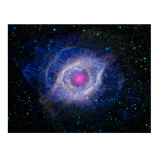 The Helix Nebula: Unraveling at the Seams Postcard