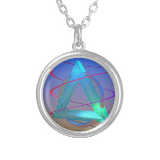 The Helix Project Silver Plated Necklace