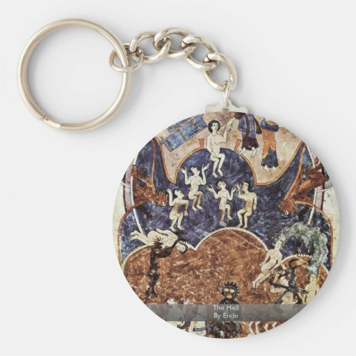 The Hell By Ende Key Chains