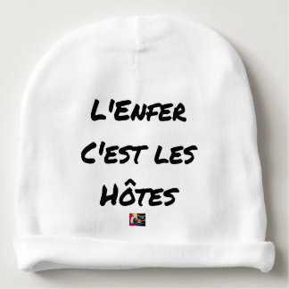 The HELL, They IS the HOSTS - Word games Baby Beanie