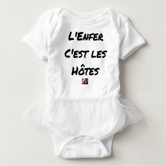 The HELL, They IS the HOSTS - Word games Baby Bodysuit