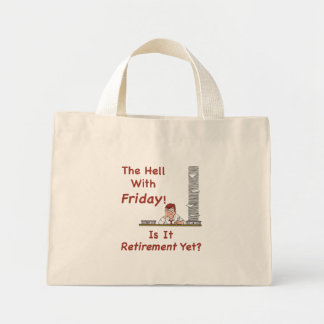 The Hell With Friday Tote Bag Mini Tote Bag