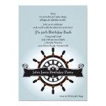 The Helm Nautical Invitation