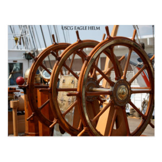 The Helm, USCG Cutter Eagle Postcard