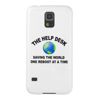 The Help Desk - Saving The World Galaxy S5 Cover