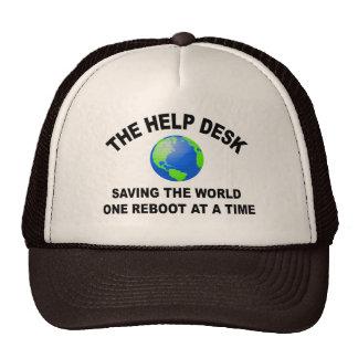 The Help Desk - Saving The World Hats