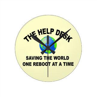 The Help Desk - Saving The World Round Clock