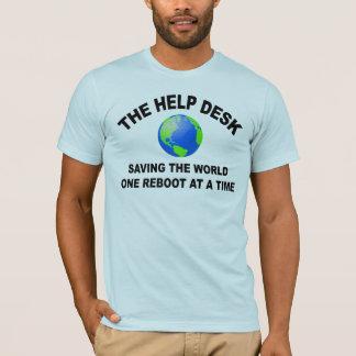 The Help Desk - Saving The World T-Shirt