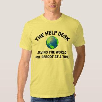 The Help Desk - Saving The World Tees