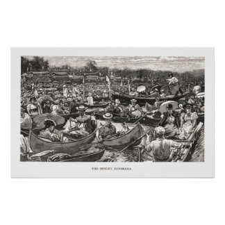 The Henley Panorama Poster