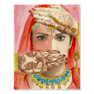The Henna Bride Poster