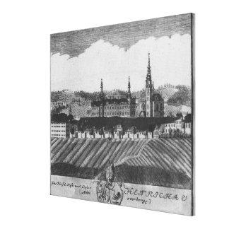 The Henrykow abbey Canvas Print